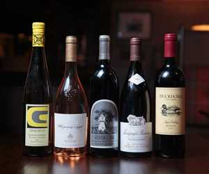 we offer an extensive wine list from the old world and new